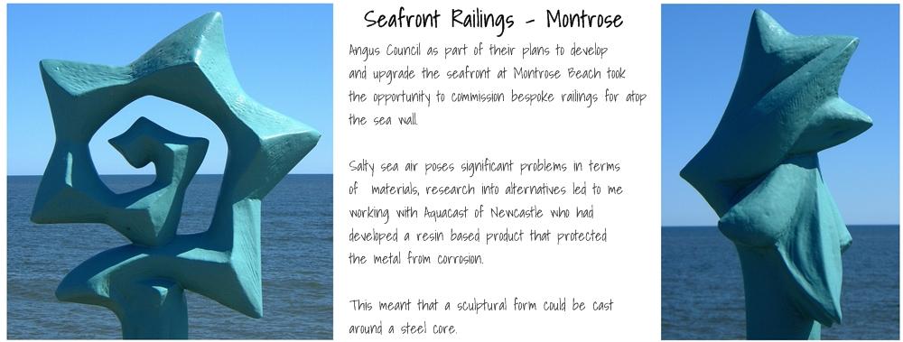 Montrose Seafront Railings