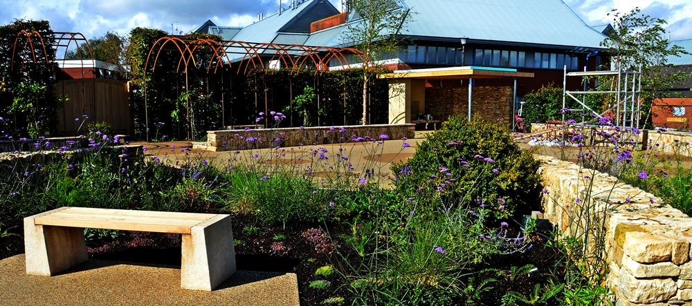 Horatio garden wide view