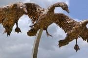 'Return' – Kinross Gateway Sculpture – 2011
