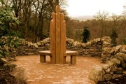 Explorers Garden Pitlochry – Seating/viewing area