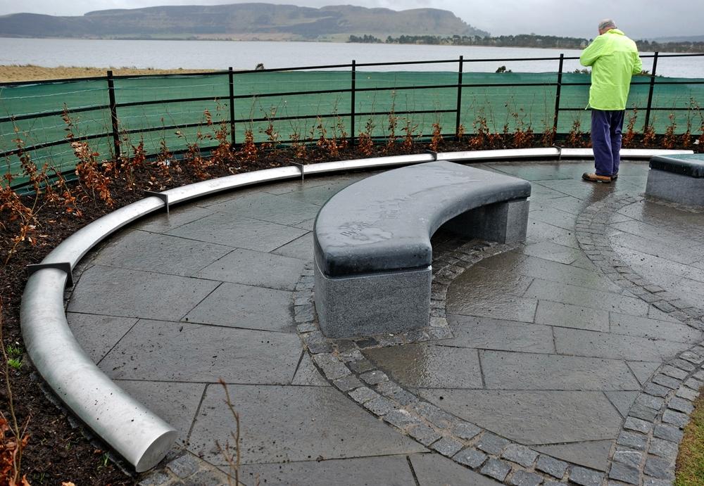 Kinross Heritage Trail test on site