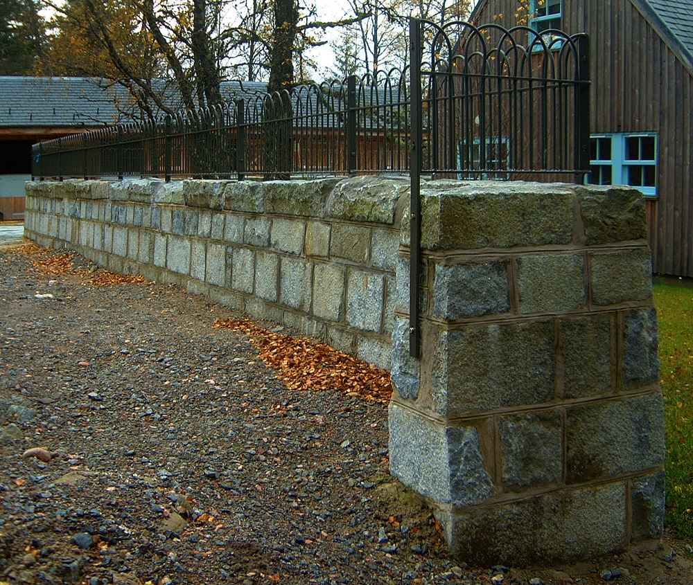 Corrour Stable walls