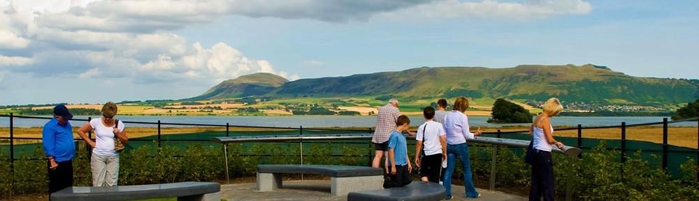Kinross Heritage Trail handrail view