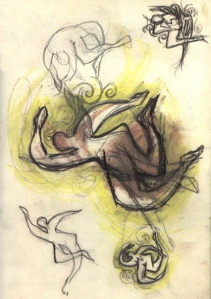 PFG female figure sketch