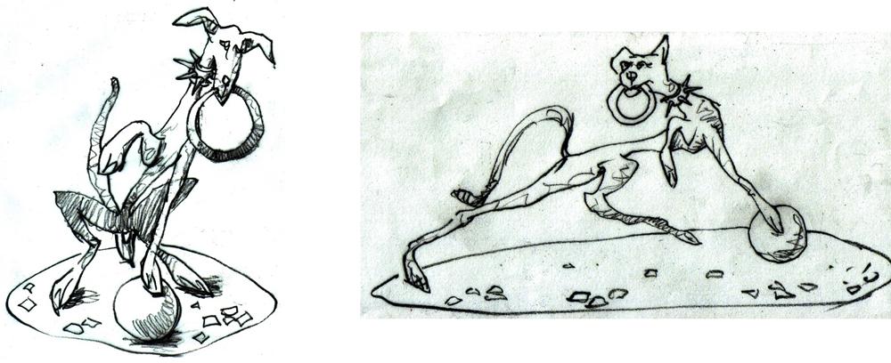 Skeeter development sketch