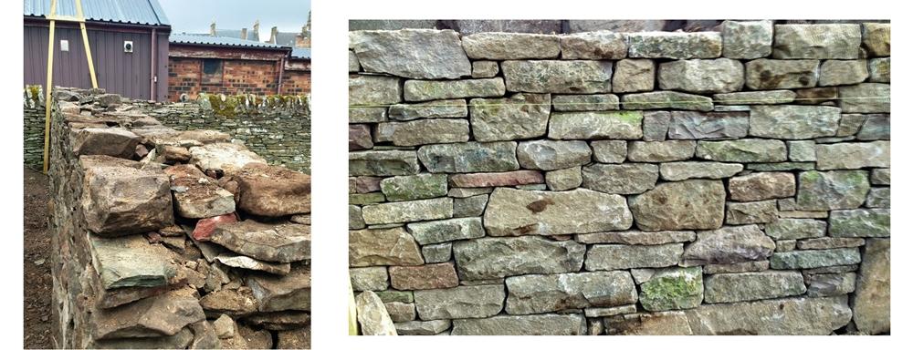 Forfar walling details