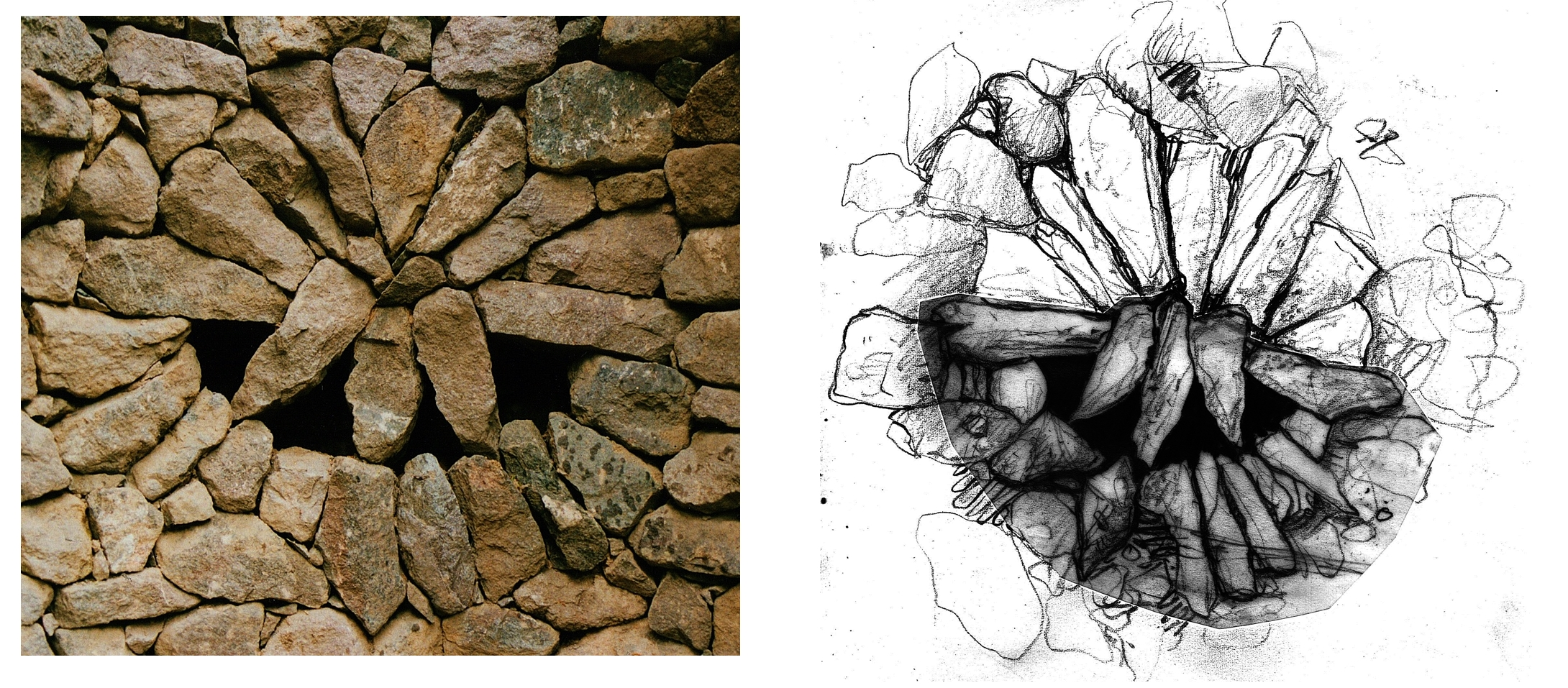 Rouken Glen Alcove & sketch