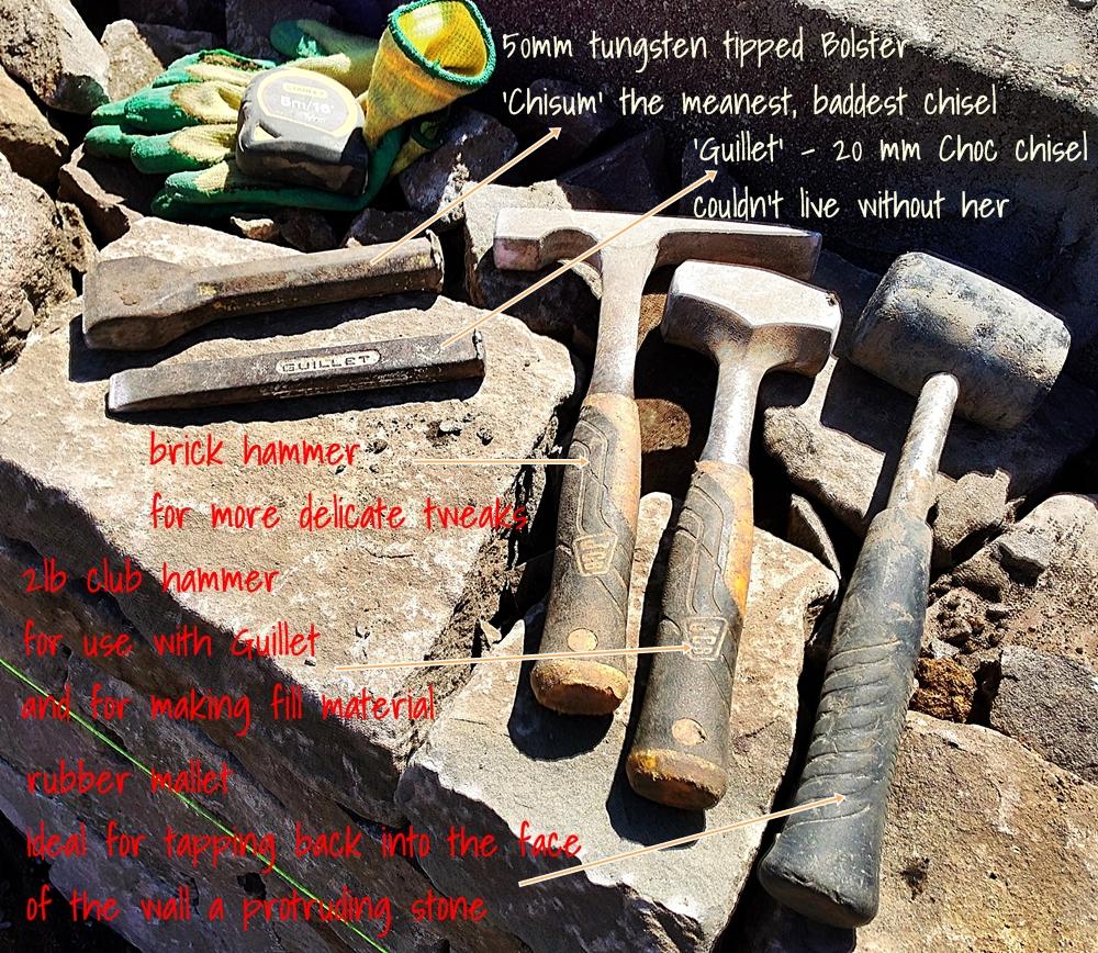 Walling tool kit