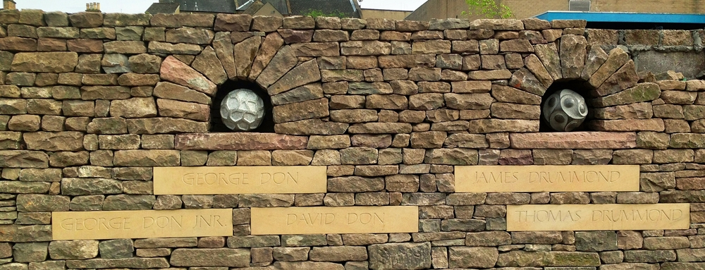 Forfar South Wall complete